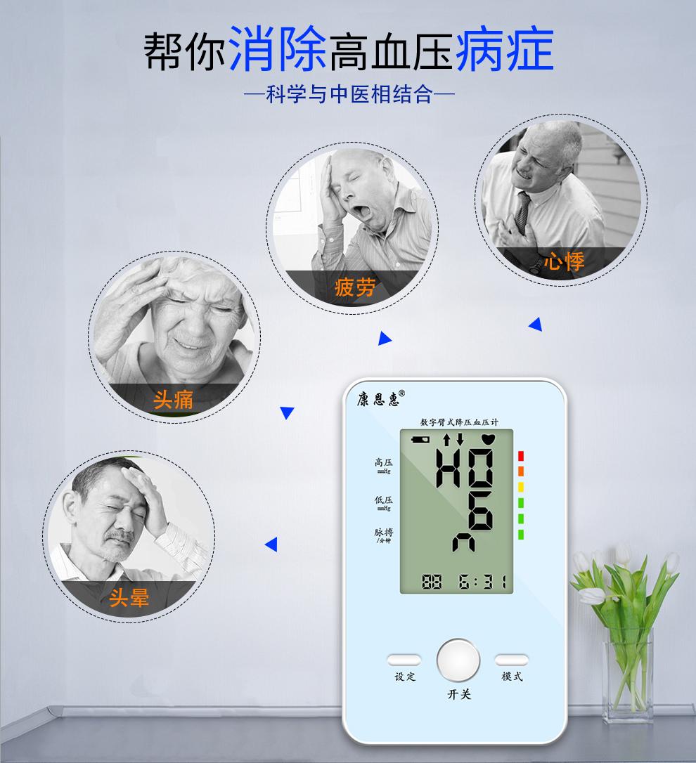 高血压治疗仪治疗病症