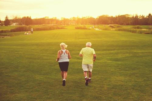 高血压慢跑长跑运动