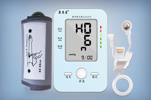 怎么看血压仪上的数据