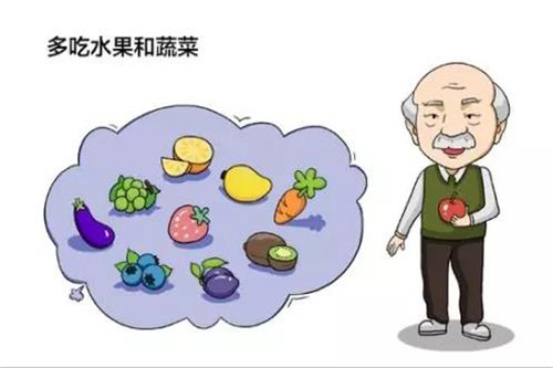高血压饮食上多吃水果和蔬菜