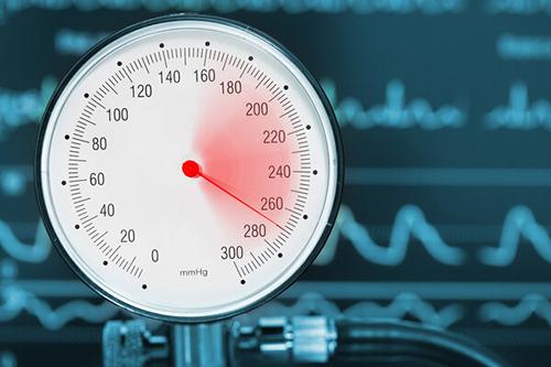 高血压空置率