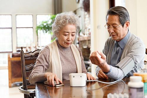 高血压患者居家测血压