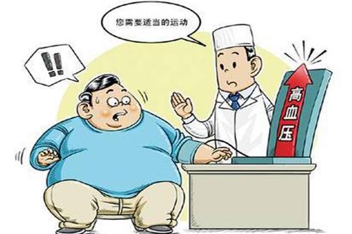 肥胖高血压引起脑出血