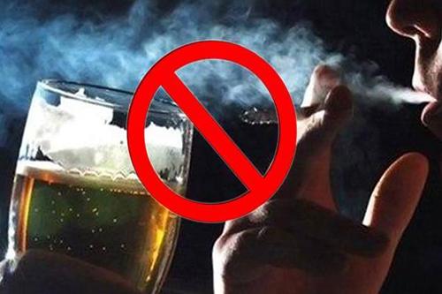 高血压需要戒烟戒酒