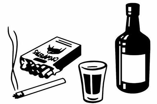 高血压药戒烟酒酒